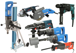 Manual machines 230V drive