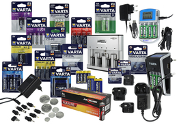 Batteries, rechargeable batteries and power supply units