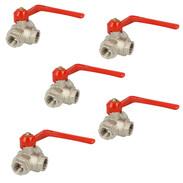 3-way brass ball valves