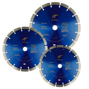 Universal diamond cutting blades for various building materials