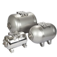 Expansion vessels for domestic water works