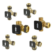 Thermal load valves compression fitting