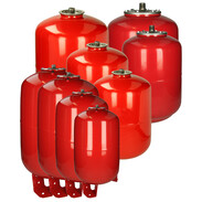 Expansion vessels for solar systems up to 130 °C