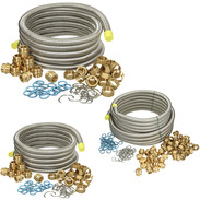 Corrugated pipe set for professionals