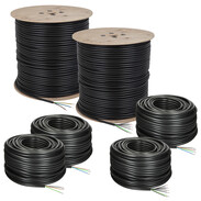 Underground power and control cables NYY-J with protective conductor