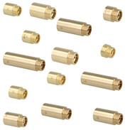 Tap extensions made of brass