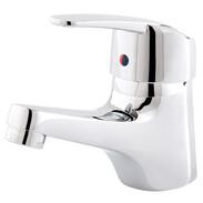 Single lever basin mixer nizza with waste set