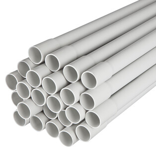 Medium-rigid conduit IRL/B M20 sleeved