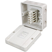 Hensel cable junction box 5-pole 1.5-2.5 mm² 3phase, 4 mm² 1phase