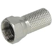 F-cable plug Ø 6,8 mm