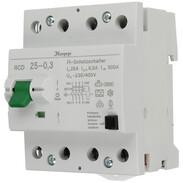 Kopp interruttore di sicurezza per correnti di guasto 25A 300mA 230V AC 752543011