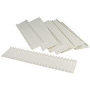F-Tronic Cover strips for all distributors white ADS12W