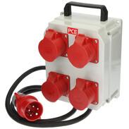 mobile distribution box Schwaz 4x CEE 16A