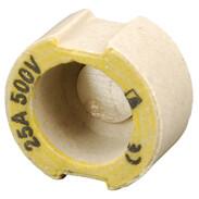 D-adapter screws, D II, 25 A, E27 AC 400 V 033601