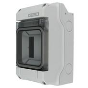 Hensel KV9103 circuit breaker box 1-row 3 modules  IP 65