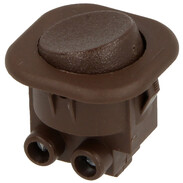 Interbär Rocker switch, brown type 8014