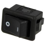 Interbär Rocker switch, black type 3634/10 A, 0 - I