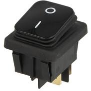 Interbär Rocker switch, black type 3627, IP65, 0 - I