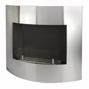 Stainless steel Ethanol-fireplace