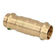 Press fitting gunmetal sliding coupling 18 mm  F/F (SC contour)
