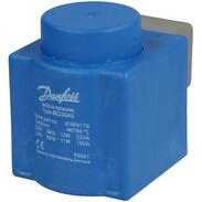 Danfoss solenoid coil with AMP 10 Watt a.c., 018F6176