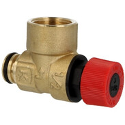 Safety valve 3 bar for solar energy system HTE 25