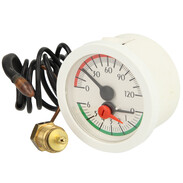 Thermomanometer with remote line white 3980240