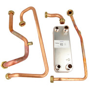 Conversion kit for heat exchanger