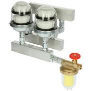 Heating oil group de-aerator HGE 160