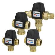 Solar mixing valves