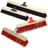 Industrial brooms and street brooms