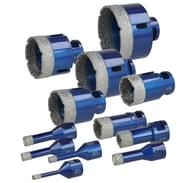 Dry tile drill bits Q350