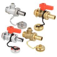 F + E ball valve