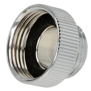"Reducer 3/4"" IT x 1/2"" ET chrome-plated brass"