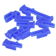 Tags blue 10 pieces