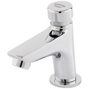 BENKISER washbasin self-closing valve aerator, vandal protected