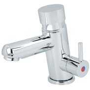 Design mixer tap with autom. switch off DN 15, 6-8 sec. (2 bar) chrome-plated