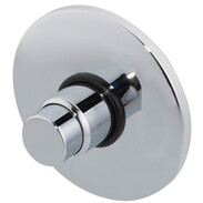 Concealed shower mixer, self-shutting mixed and cold water, DN15, chrome pl.