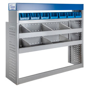 Vehicle equipment module MAXI storage box for medium-sized transporters
