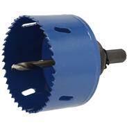 Circle cutter Ø 76 mm HSS bimetallic for plastic and metal