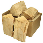 Beech firewood 15 kg in cardboard box