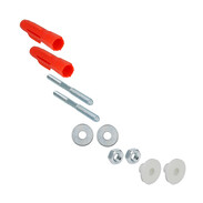 Mounting kit for washbasins M 10 x 140 mm with hanger bolts