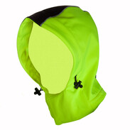 Motion TEX VIZ removable hood neon yelllow