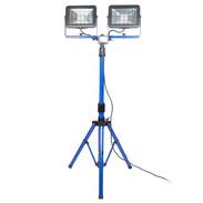 CHIP-LED spotlight with tripod 2 x 30 W 46409