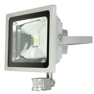 LED spotlight 20 W with motion detector 120°