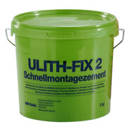 Ulith-Fix 2 quick-hardening cement 5 kg in a bucket
