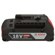 Bosch battery packs 18V 2,0 Ah Li-Ion 1600Z00036
