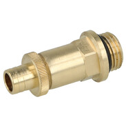 Gunmetal draining valve with straight outlet 3222080
