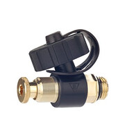 """Cuphin draining valve with 3/4"""" hose connection pivoted 1276080"""