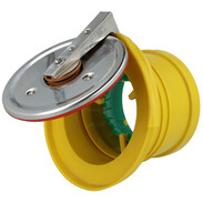 Pipe end cap for drainage pipes DN 110 33110REK